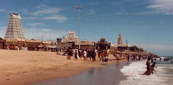 Tiruchendur seashore temple