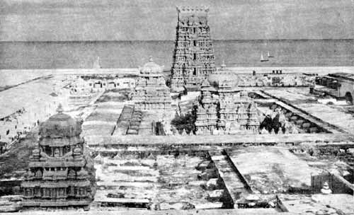 Thiruchendur Devasthanam as it appeared in the 1940's