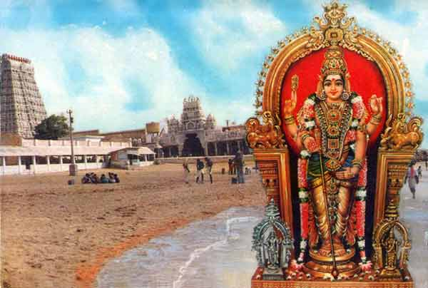 Seashore Temple of Tiruchendur